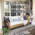 Our DIY Swing Bed - Living with Lady