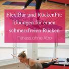 Flexi Bar Übungen und Wirkung - RückenFit mit Gymflow (Video)