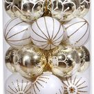 30pc Xmas Ball Set Christmas Tree Baubles Clearance Gift Ornament Decoration 30