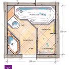 Badplanung kleines Bad unter 4m²