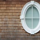 Oval Window stock image. Image of rustic, house, home, oval - 459529