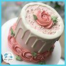Blush Rose To Go Cake