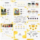 Wave Abstract Free powerpoint templates and Google slides theme - by PPTMON.com