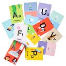 The Alphabet Flashcard Collection - Learn ABCs With Our Flashcards - 26 Double Sided Cards for Learning The Alphabet - Priya & Peanut