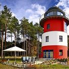 Traumferien im Leuchtturm auf Rügen an der Ostsee