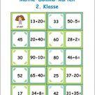 Mathematik Arbeitsblätter für die 2. Klasse