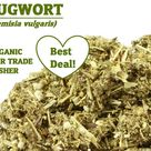 Organic MUGWORT -  Artemisia vulgaris Dried Herb Ounce, USA grown, magic herbs, Altamisa, Armoise, Artémise, Artemisiae, Felon Herb