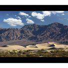 Mouse Mat. Mesquite Flat Sand Dunes at sunsrise, Death Valley