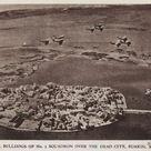 Large Framed Photo. British Bristol Bulldog fighter aircraft of