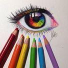 Cool Eye Drawings