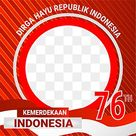 Twibbon Hut Ri Indonesian Independence Day, Twibbon 17 Agustus, Banner 17 Agustus, Twibbon PNG and Vector with Transparent Background for Free Download