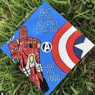 Avengers Marvel Graduation cap