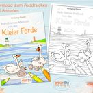 Malbuch zum Sofort-Download als PDF für Kinder: Mein kleines   Etsy