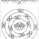 Mandalas Coloring Sheet 24