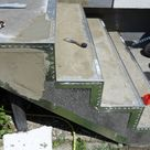 Steinteppich Treppe, Treppenrenovierung