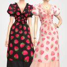 Strawberry dress by Joliebean