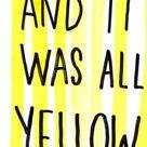 Yellow Coldplay Lyrics