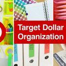 DIY Organization Ideas from Target Dollar Spot | Sea Lemon