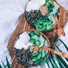 Tropical Kiwifruit Bowls
