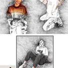 Pencil Drawing Effect PS Action 5891890 - FreePSDvn