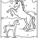 All New Magical Unicorn Coloring Pages