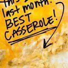Sour Cream Chicken Enchilada Casserole