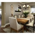 Neutral Dining Rooms
