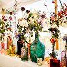 Pretty Flower Filled Sperry Tent Wedding
