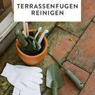 Terrassenfugen reinigen    mit den Hausmitteln klappt es garantiert