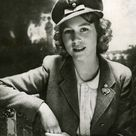 A beautiful picture of the teenaged future Queen of England, Princess Elizabeth wearing her ATS uniform in WWII 1942