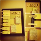 Dinner Menu Boards