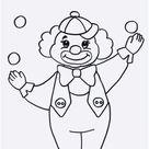 99 Neu Clown Zum Ausmalen  Galerie