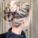 Easy Double Messy Buns
