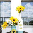 Bottle Decoration (flower vase)🌺🦋