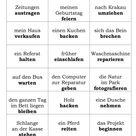 Spiele im Deutschunterricht: Das perfekte Alibi (Perfekt-Spiel)