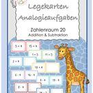 Analogieaufgaben ZR 20 Legekarten