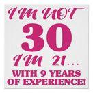 Funny 30th Birthday Poster | Zazzle.com