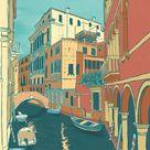 Venice Italy Poster | Etsy