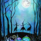 Witch Art