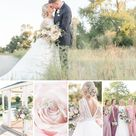 Romantic Rosy Blush & Navy Blue Wedding at The Charles | Rose Courts Photography