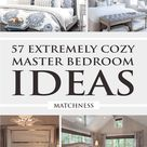 57 Extremely Cozy Master Bedroom Ideas - Matchness.com