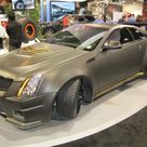 D3 Le Monstre Wide Body Cadillac CTS V Coupe 2011 SEMA Live Photos