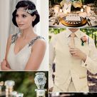 Gatsby Glamour: 1920s Wedding Ideas