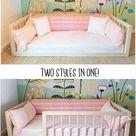 Hardwood Montessori Floor Bed With 4 Railings Made in Ohio USA | Etsy