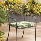 Garden Treasures Palm Leaf Seat Pad Polyester | TH1P329A-9C8