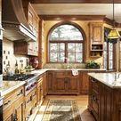 English manor house in Edina, MN. Bruce Kading Interior ...   Kitchen