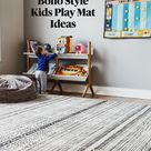 Boho Style Kids Play Mat Ideas