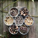 Bug Hotel   Insect Hotel   Bug House   Insect Habitat   Bee Hotel