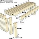 How To Build a Finger Joint Bench with 2×4 Boards