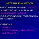 Portal hypertension radiological diagnosis and interventions